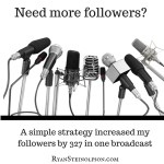 3 Easy Steps How I Got 327 Followers in one Periscope Broadcast