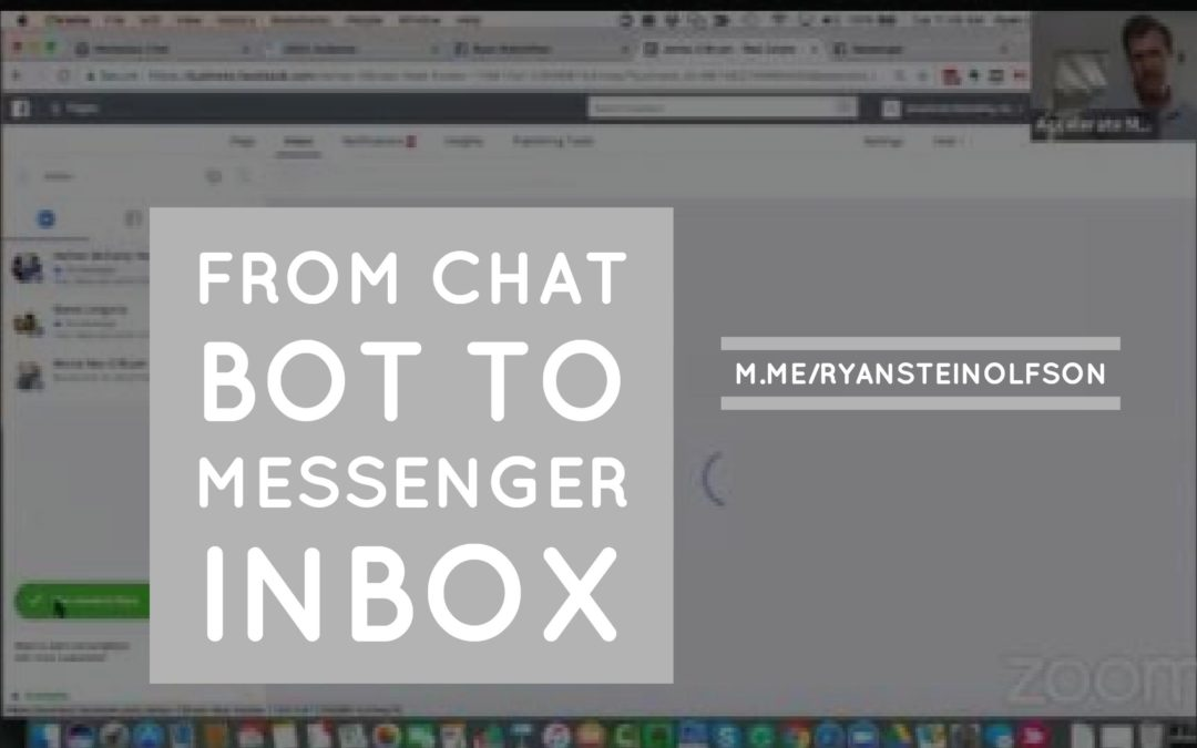 From Chat Bot to Messenger Inbox